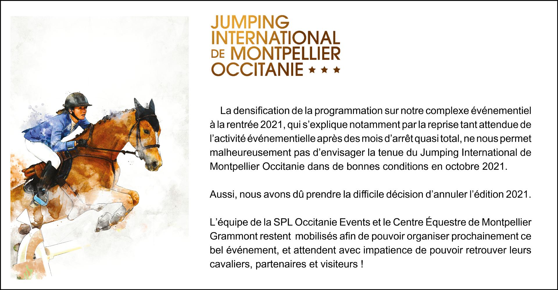 Jumping International de Montpellier 2021